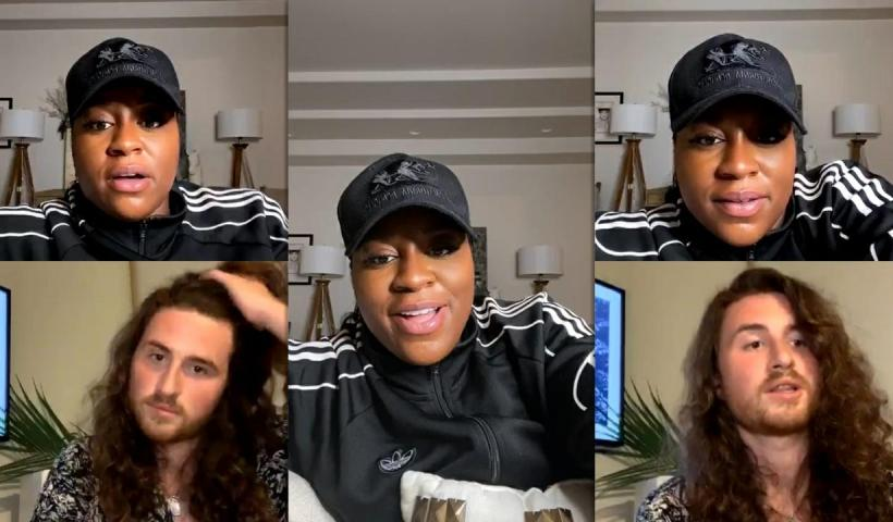 Ester Dean's Instagram Live Stream from May 25th 2020.