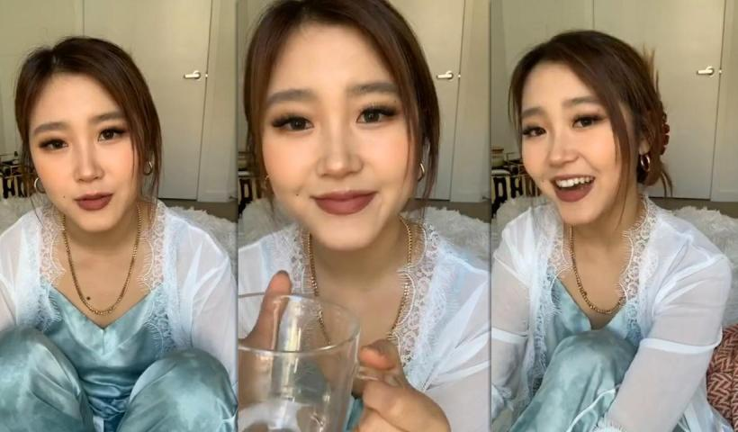 Heyoon Jeong's Instagram Live Stream from May 27th 2020.