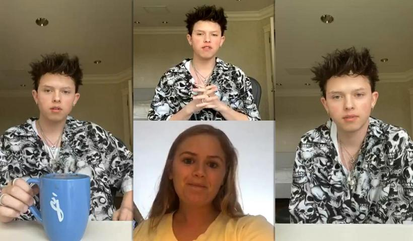 Jacob Sartorius Instagram Live Stream from May 11th 2020.