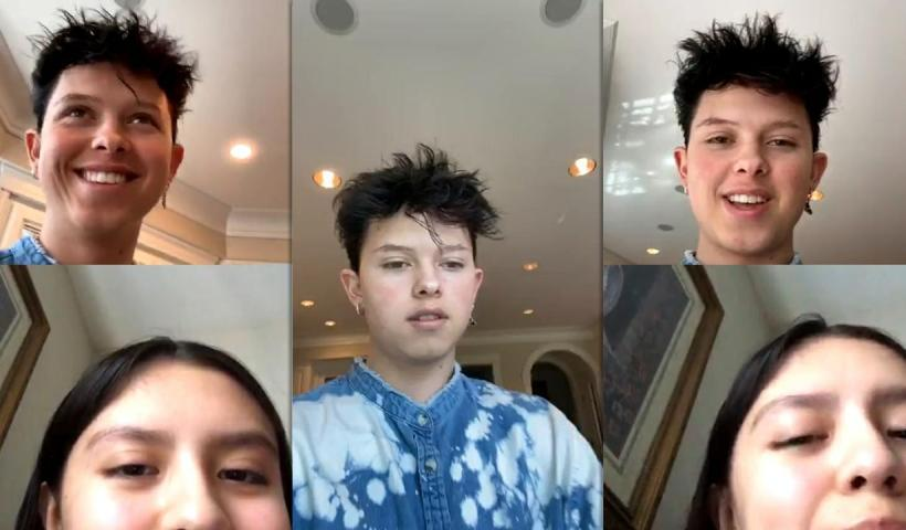 Jacob Sartorius Instagram Live Stream from May 15th 2020.