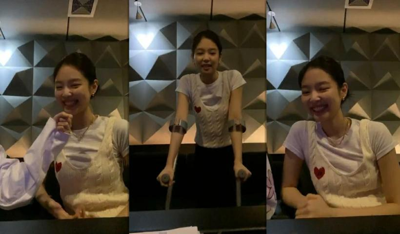 Jennie (BLACKPINK)'s Instagram Live Stream with Jisoo from May 9th 2020.