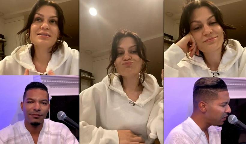 Jessie J's Instagram Live Stream from May 5th 2020.