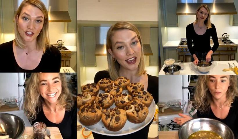 Karlie Kloss Instagram Live Stream from May 13th 2020.