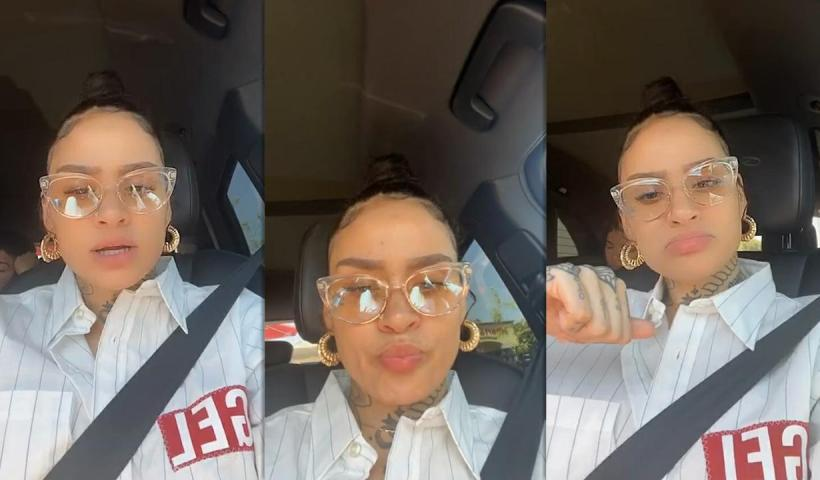 Kehlani's Instagram Live Stream from May 11th 2020.