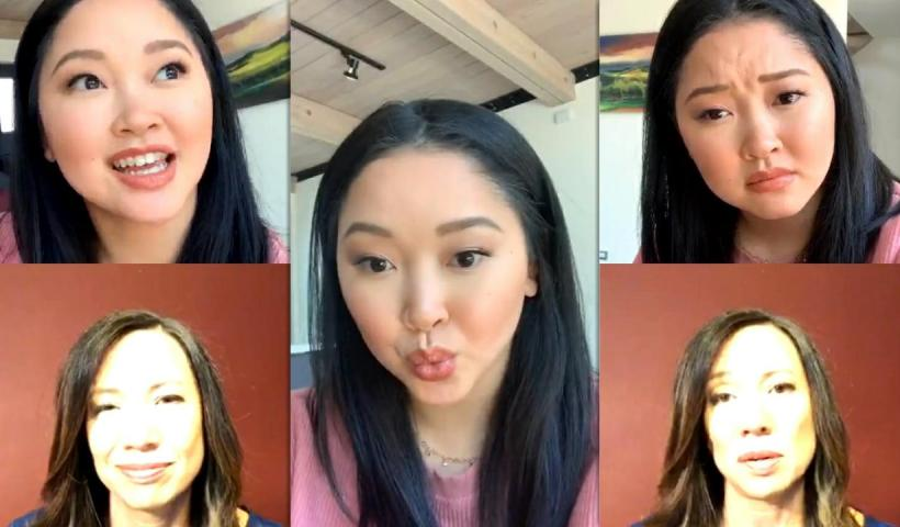 Lana Condor's Instagram Live Stream from May 14th 2020.