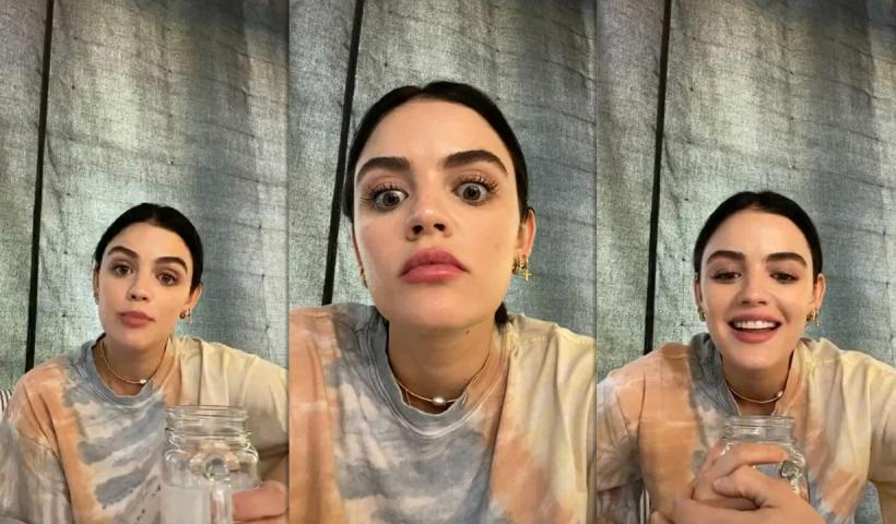 Lucy Hale's Instagram Live Stream from May 7th 2020.