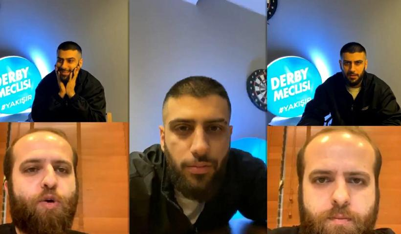 Yusuf Aktaş aka Reynmen's Instagram Live Stream from May 9th 2020.