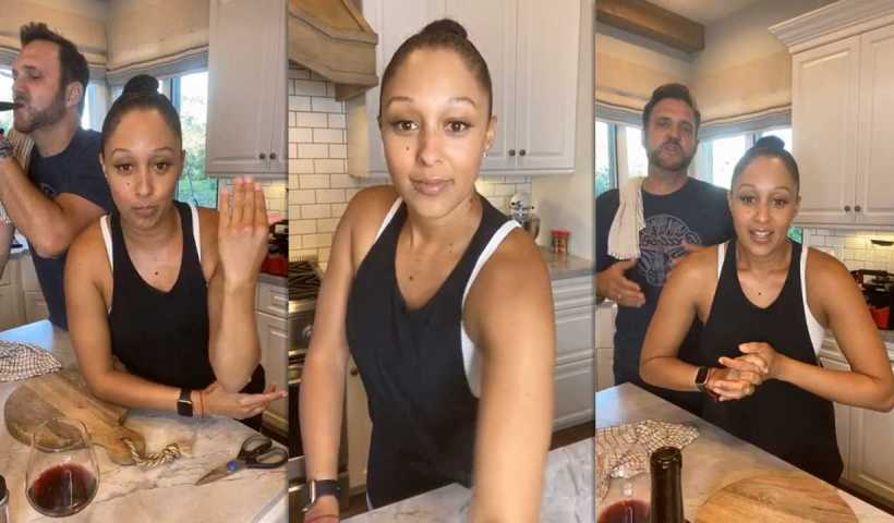 Tamera Mowry's Instagram Live Stream from May 4th 2020.