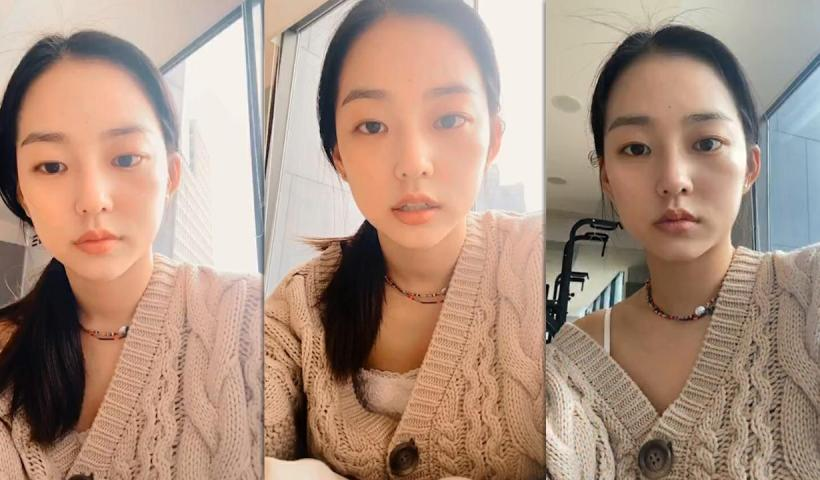 Yeeun's Instagram Live Stream from May 16th 2020.