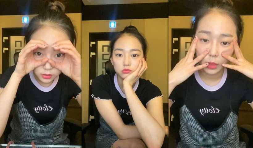 Yeeun's Instagram Live Stream from May 1st 2020.