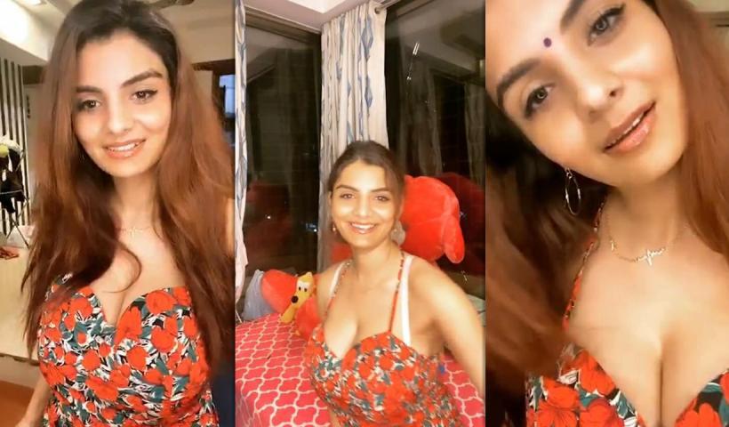 Anveshi Jain's Instagram Live Stream from June 10th 2020.