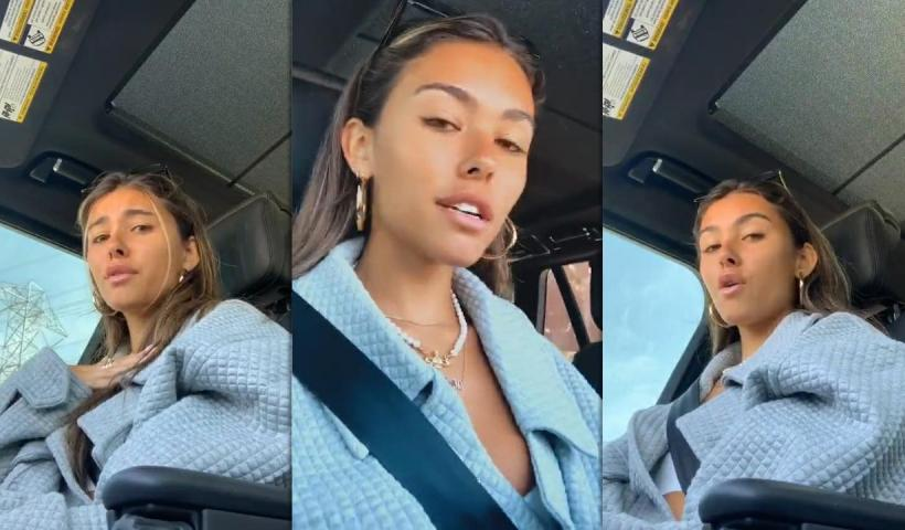 Madison Beer's Instagram Live Stream from June 15th 2020.