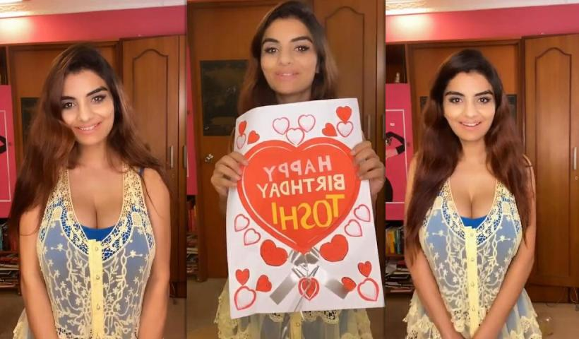 Anveshi Jain's Instagram Live Stream from July 1st 2020.