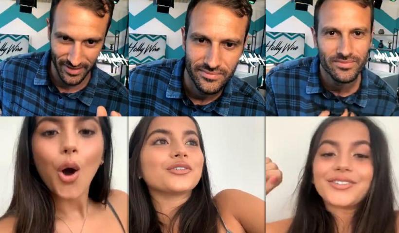 Isabela Merced (Moner)'s Instagram Live Stream from July 2nd 2020.