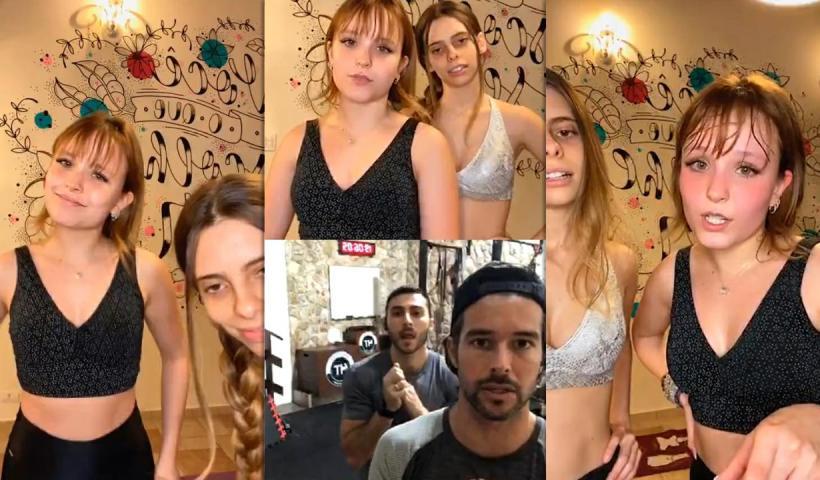 Larissa Manoela's Instagram Live Stream from July 9th 2020.