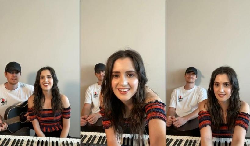 Laura Marano's Instagram Live Stream from July 9th 2020.