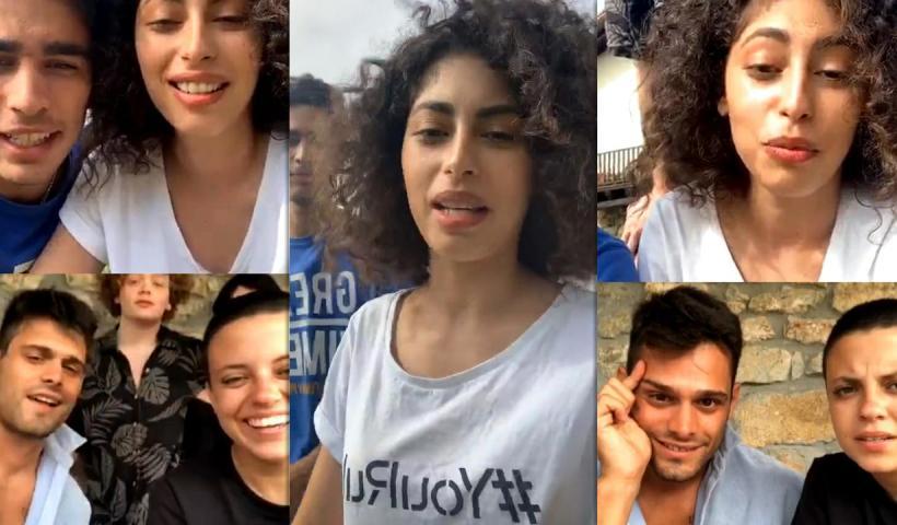 Mina El Hammani's Instagram Live Stream from July 29th 2020.