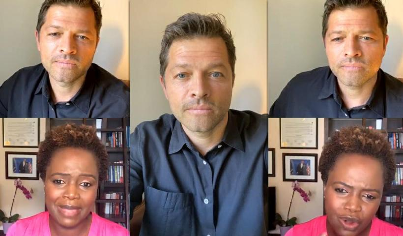 Misha Collins' Instagram Live Stream from July 6th 2020.