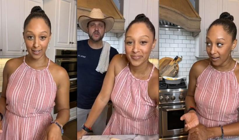 Tamera Mowry's Instagram Live Stream from July 10th 2020.
