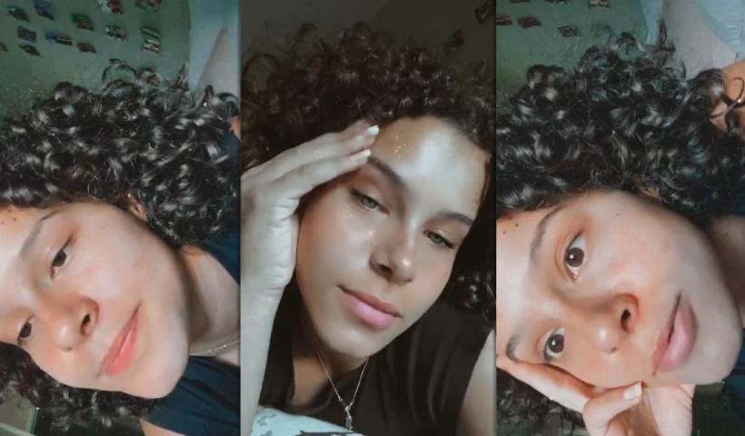 Gabriella Saraivah's Instagram Live Stream from August 23th 2020.