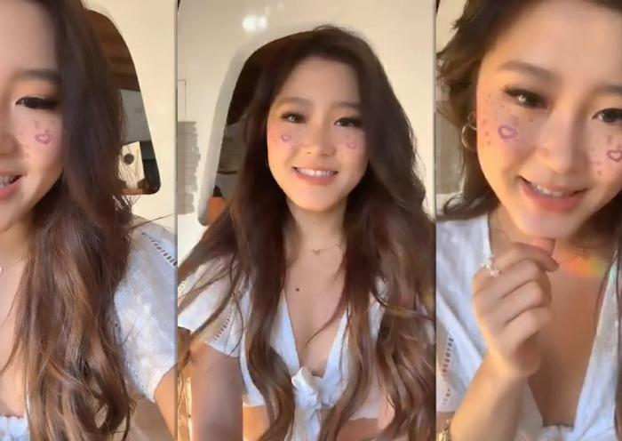 Heyoon Jeong's Instagram Live Stream from August 8th 2020.