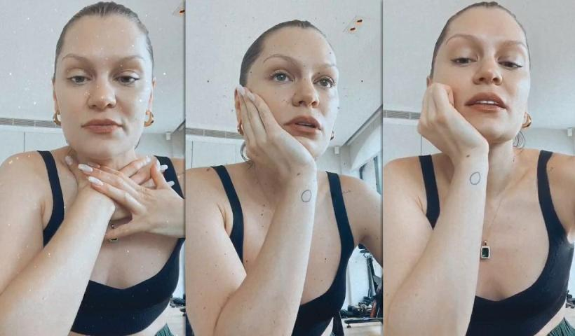 Jessie J's Instagram Live Stream from August 30th 2020.