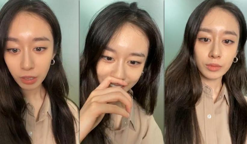 Park Ji-yeon's Instagram Live Stream from August 5th 2020.