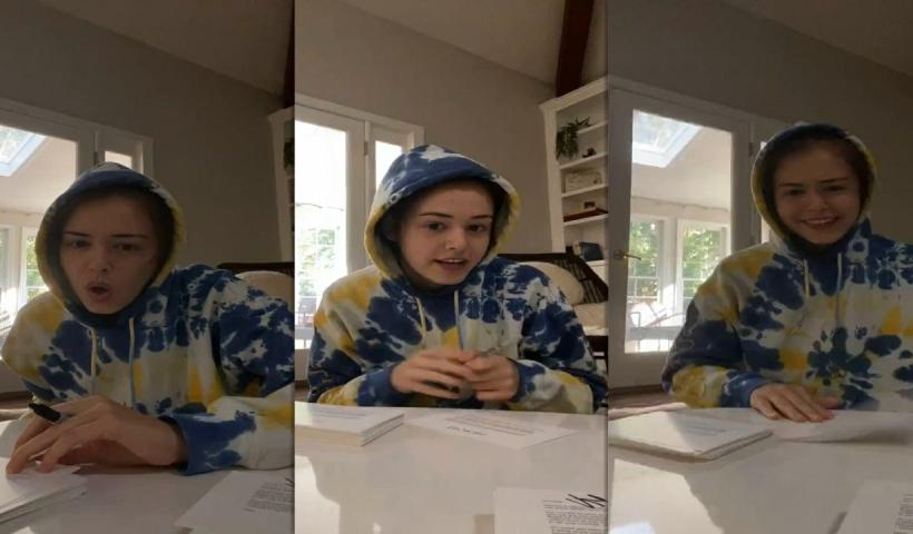 Kaylee Bryant's Instagram Live Stream from August 6th 2020.