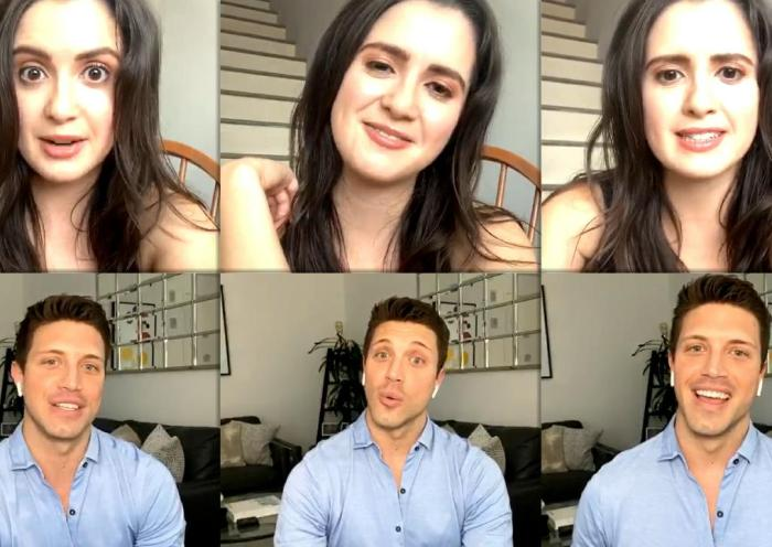 Laura Marano's Instagram Live Stream from August 12th 2020.