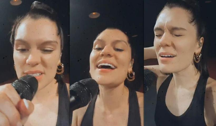 Jessie J's Instagram Live Stream from September 16th 2020.