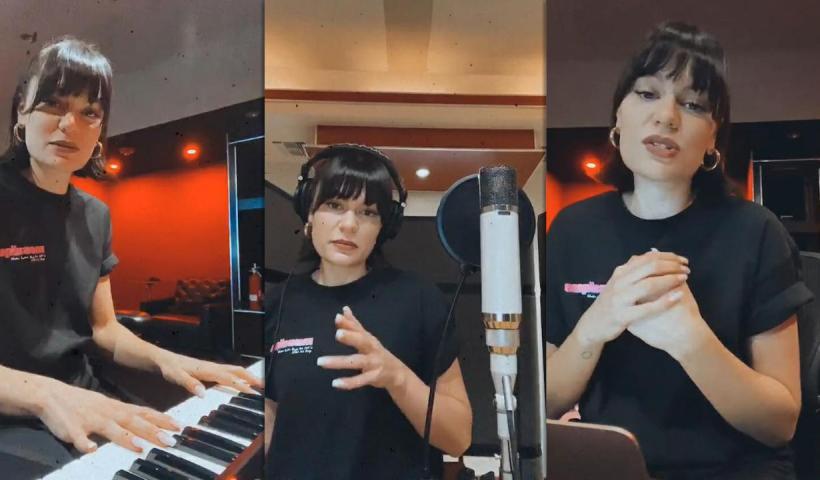 Jessie J's Instagram Live Stream from September 8th 2020.