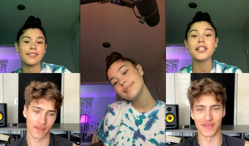 Dylan Conrique's Instagram Live Stream from October 8th 2020.