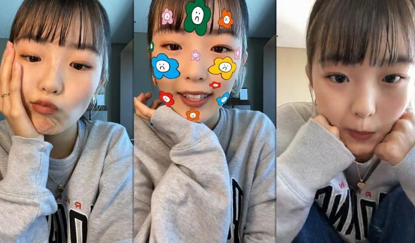 Hina Yoshihara's Instagram Live Stream from October 19th 2020.