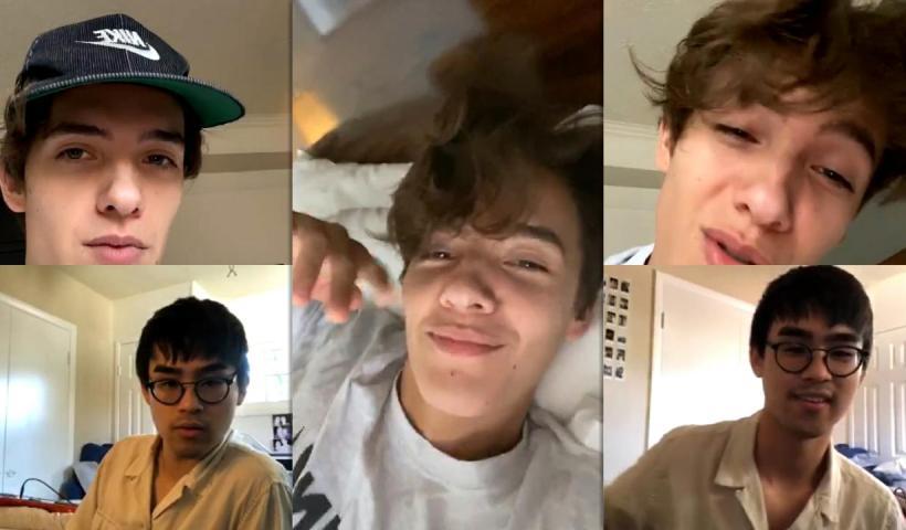 Noah Urrea's Instagram Live Stream from October 17th 2020.