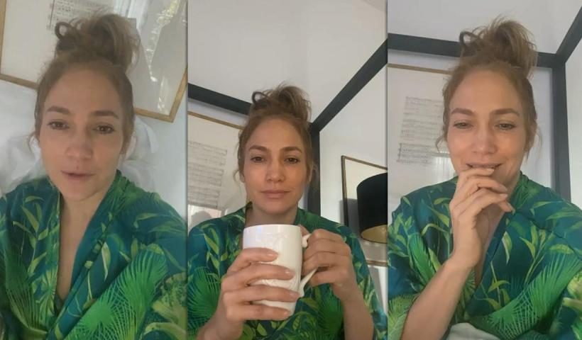Jennifer Lopez's Instagram Live Stream from November 23th 2020.