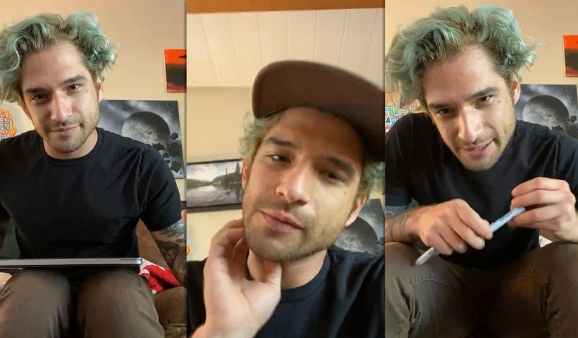 Tyler Posey's Instagram Live Stream from November 21th 2020.