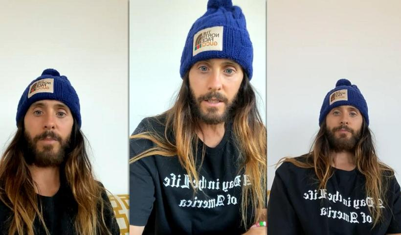 Jared Leto's Instagram Live Stream from January 11th 2021.