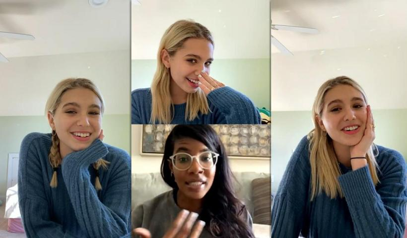 Lilia Buckingham's Instagram Live Stream from January 18th 2021.