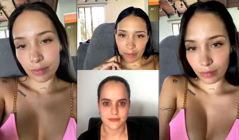 Luisa Fernanda W's Instagram Live Stream from January 4th 2021.
