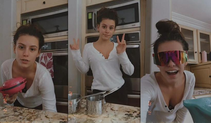 Madisyn Shipman's Instagram Live Stream from January 28th 2021.