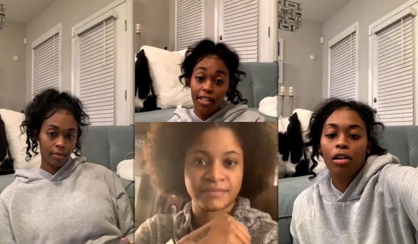 Nafessa Williams Instagram Live Stream from January 21th 2021.