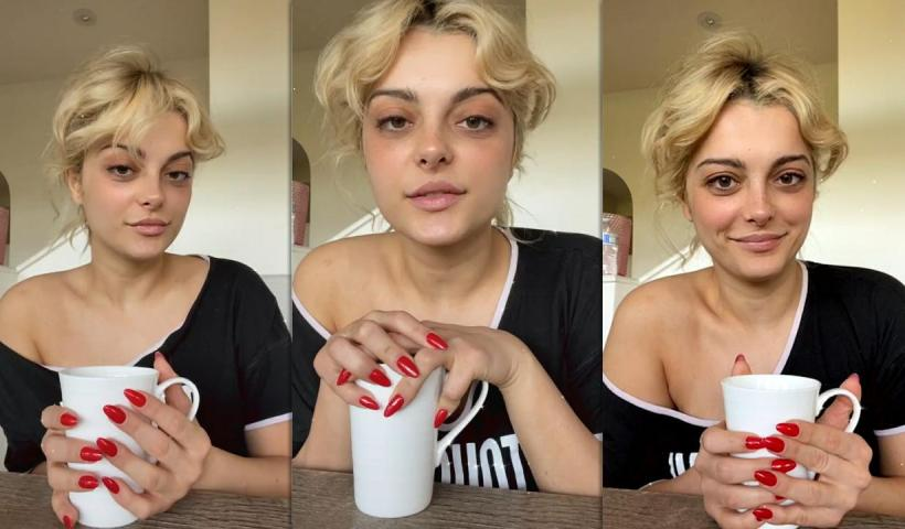 Bebe Rexha's Instagram Live Stream from February 16th 2021.