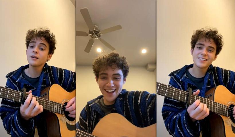 Joshua Bassett's Instagram Live Stream from February 14th 2021.