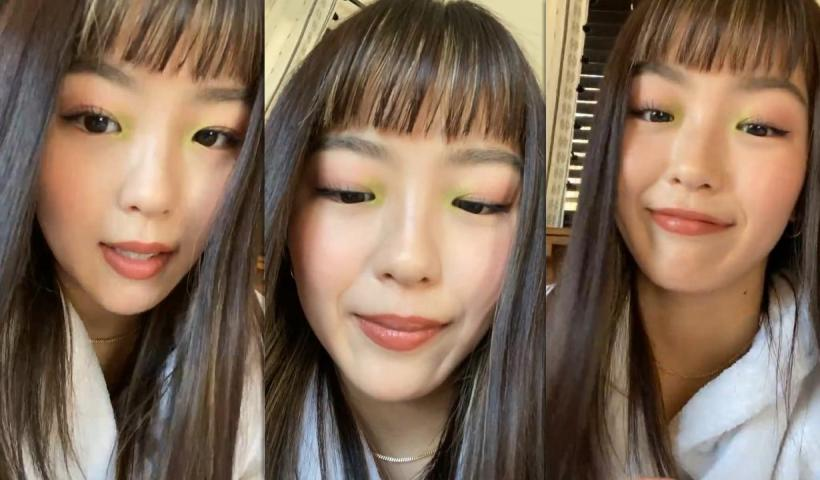 Hina Yoshihara's Instagram Live Stream from March 28th 2021.