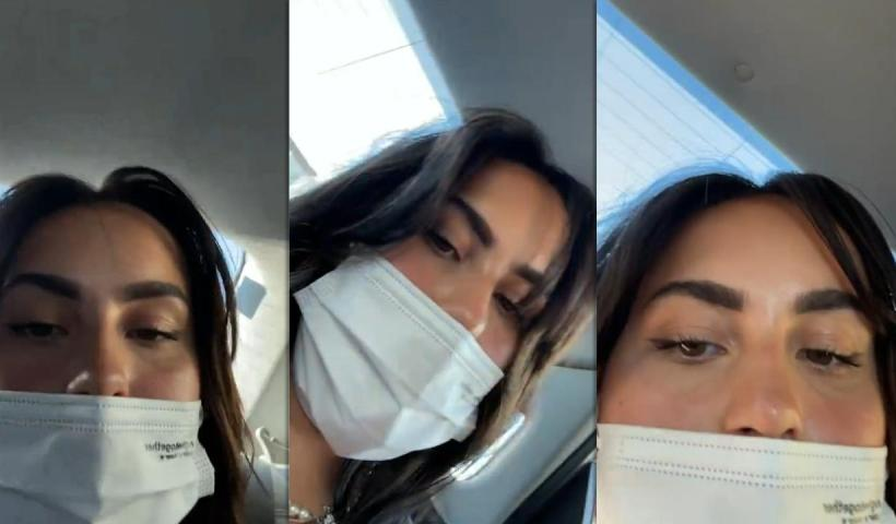 Claudia Tihan's Instagram Live Stream from April 27th 2021.