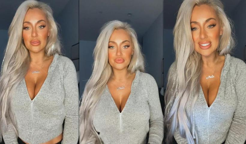 Laci Kay Somers Instagram Live Stream from April 25th 2021.