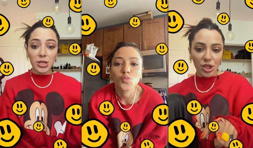 Niki DeMar's Instagram Live Stream from April 20th 2021.