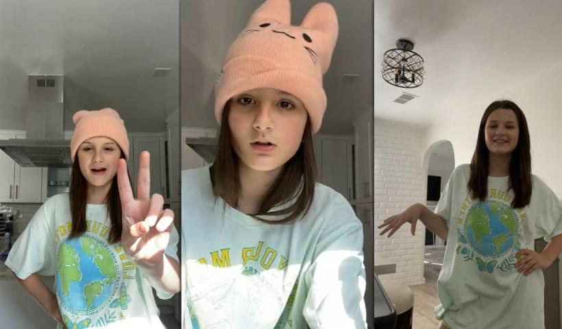 Hayley LeBlanc's Instagram Live Stream from May 6th 2021.