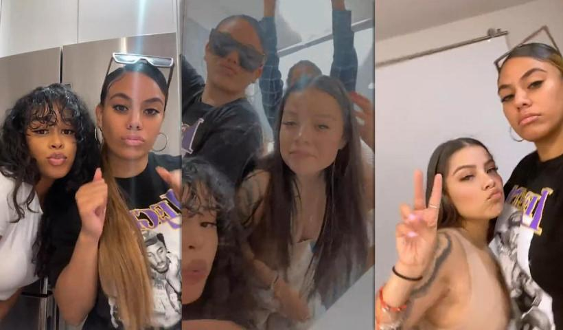 Dinah Jane's Instagram Live Stream from August 22th 2021.