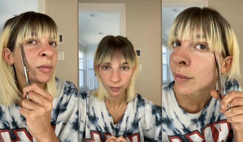 Gabbie Hanna's Instagram Live Stream from August 29th 2021.